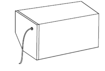 Rolety - Wyprowadzenie kabla z boku