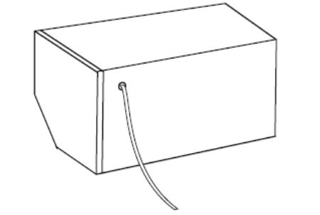 Rolety - Wyprowadzenie kabla z tyłu